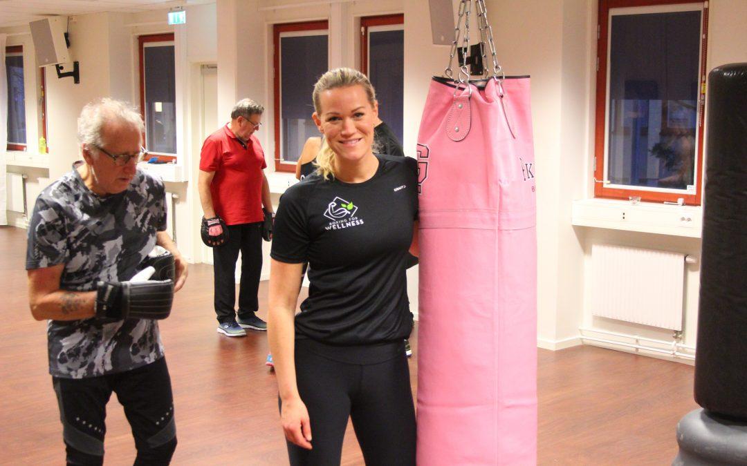 Just nu: Boxningsträning för människor med Parkinson