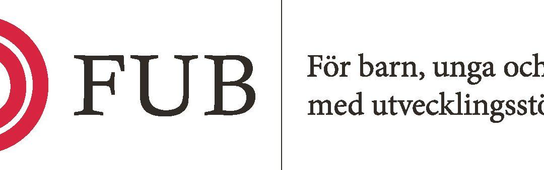 Info från FUB Karlstad: Om att vara anhörig till någon med funktionsnedsättning