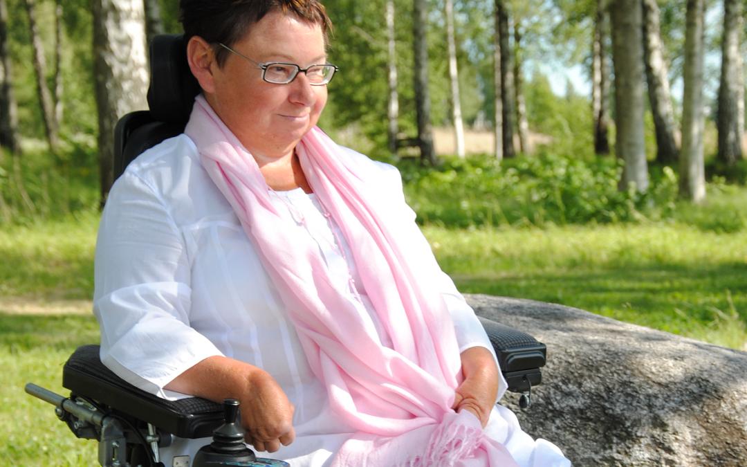 """Krönika av Kerstin Leufvén: """"Rätten till personlig assistans måste värnas varje dag."""""""