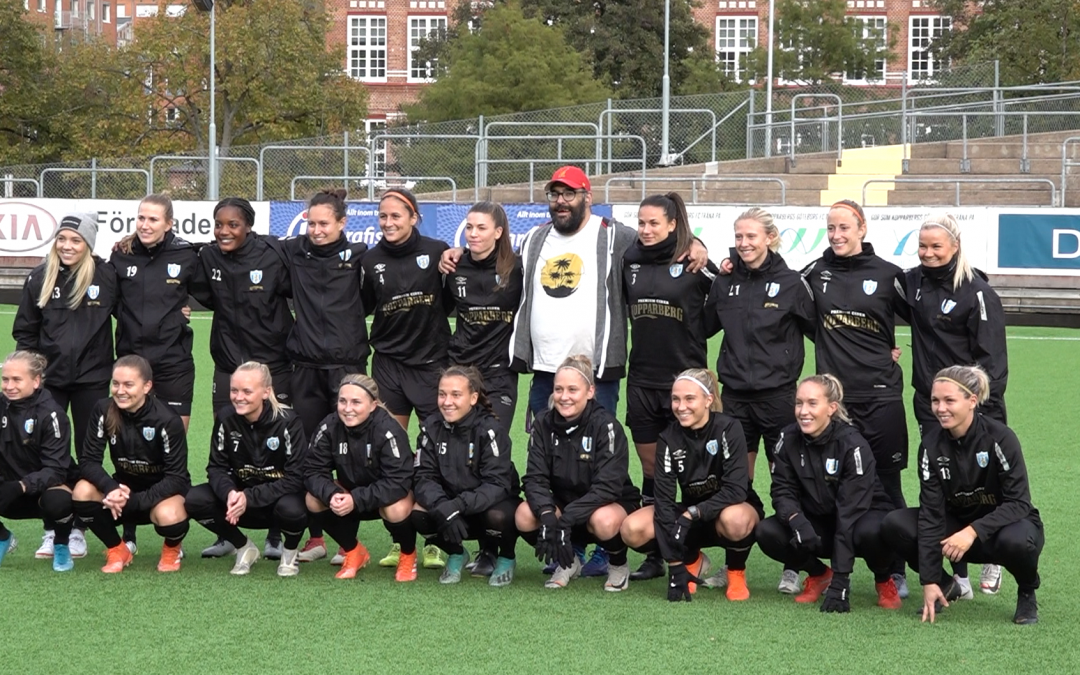 Premiär för Den blåaste himlen – ett år med Kopparbergs/Göteborgs FC