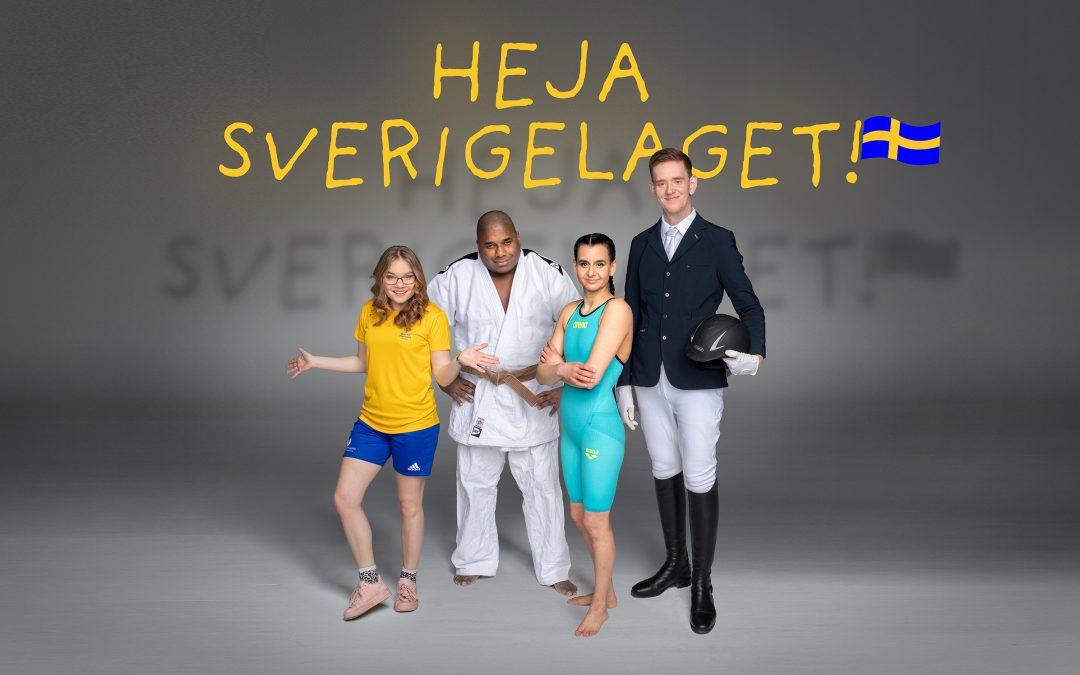 Premiär för Heja Sverigelaget!